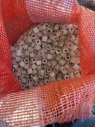 Bioglass midia filtrante