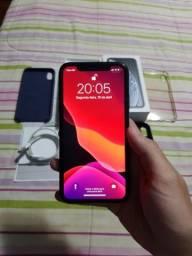 Iphone XR 64GB Preto Caixa Carregador Conservado