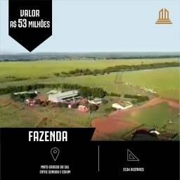 Fazenda entre Coxim e Sonora-MS (2134 hectares)