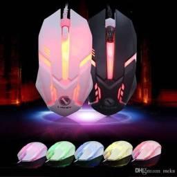 Mouse gamer rgb novo