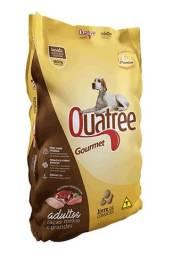 Título do anúncio: Ração Quatree Gourmet Adultos Raças Médias e Grandes 15 kg ou 25 kg