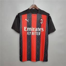 Camisa de time de futebol Milan