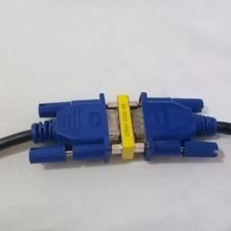 Emenda, união de cabos VGA x VGA.