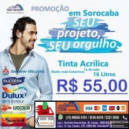 @@Super Oferta!Tinta acrílica de 16 Litros por apenas R$55,00/ Confira!