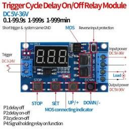 Temporizador Dc 5v-30v Termostato