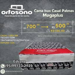 Título do anúncio: CAMA CASAL DE ESPUMA PELMEX - APENAS $500 REAIS À VISTA... ENTREGA NO MESMO DIA DO PEDIDO