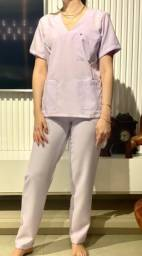 Scrub Hospitalar Lilás Afeto Costura