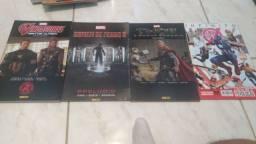 Revistas Marvel e Constantine