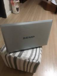 Notebook Semp pouco usado