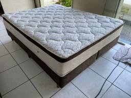 cama box QUEEN SIZE semi nova camas