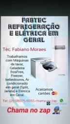 Técnico de refrigeração e Elétrica