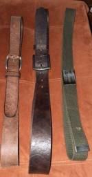 4 cintos 110/105 cm pouco usados