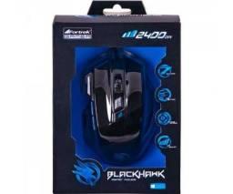 Mouse Gamer Fortrek Black Hawk OM-703 Preto/Azul