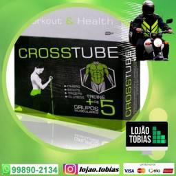Elástico Tensão Crosstube Multifuncional Extensor Muscular