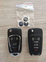Título do anúncio: Chave canivete completa Ford, Fiesta,ka, Ecosport 4 botões até 12x sem juros