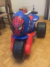 Motoca Elétrica Homem Aranha