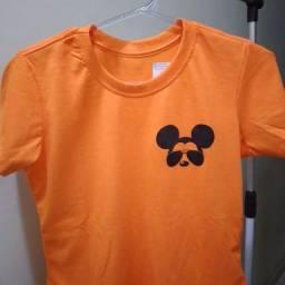 T-shirt 100% algodão fio 30