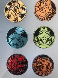 6 Moedas Pokémon