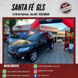 Hyundai Santa Fe GLS 3.5 V6 4x4 Tiptronic 2011 Gasolina