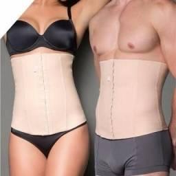 Título do anúncio: Cinta emborrachada unissex - Queima gordura/Modela/Corrige postura