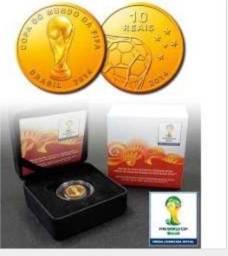 Título do anúncio:   Coleção Moeda de Ouro Copa do Mundo de 2014