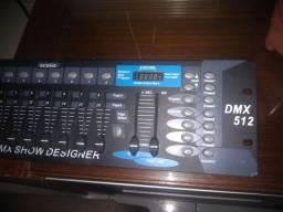Dmx 512. Estado de nova.  Gradiente polyvox