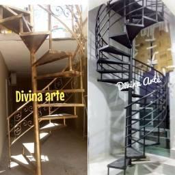 Escadas caracol PRONTA ENTREGA GALVANIZADA a partir de 1.000.00