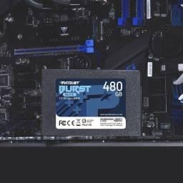 "Título do anúncio: SSD Patriot Burst Elite 480GB 2.5"""
