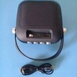Cr-x8 Som Speaker toca músicas mp3 pendrive Sd