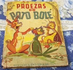 Título do anúncio: Livros Infantis antigos década de 50/60