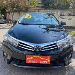 Toyota Corolla Xei 2.0 2016 Automático Completo com Gnv