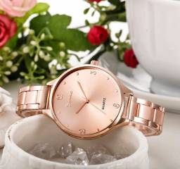 Relógio Feminino Rose Gold