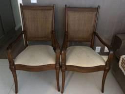 Título do anúncio: Vendo cadeiras madeira
