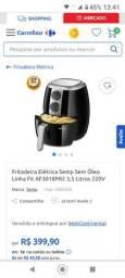 Fritadeira elétrica semp Toshiba sem óleo