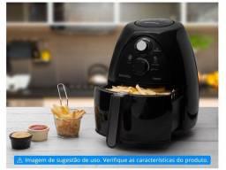Fritadeira Elétrica Sem Óleo/Air Fryer Mondial - NAF-05 Preta 4L com Timer