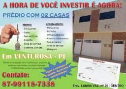 Vende-se 01 ou 02 Casas (Prédio) *Oferta Imbatível