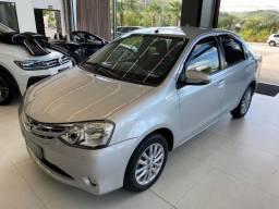 Toyota Etios Sedan Xls 1.5 Flex 2016 Completo Unico Dono Apenas 42.000 km