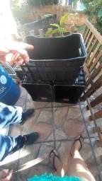 Purificador de água Eletrolux e caixa organizadora