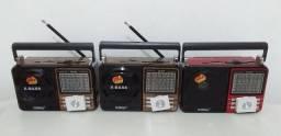 Rádio AM/FM/USB/CARTÃO (Entrega Domiciliar Grátis)
