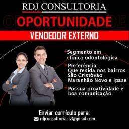 Título do anúncio: CONTRATA-SE VENDEDOR