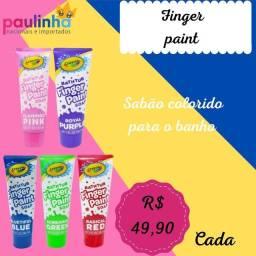 Finger Paint sabão colorido