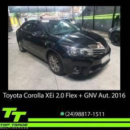 Toyota Corolla XEi 2.0 Flex + GNV Automático 2016