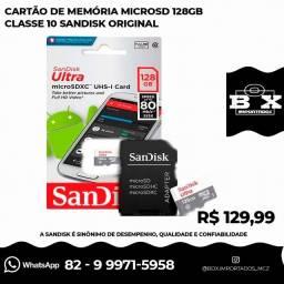 Cartão de memória SanDisk Ultra 128GB Original