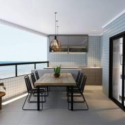 Título do anúncio: Apartamento 64m² com 2 quartos 1 vga, Sacada Gourmet, Frente Mar, Caiçara, Entrada 35 mil
