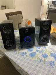 Som LG com Usb , bluetooth ,Cd Mp3 e ipad
