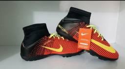 Chuteira botinha cano alto Nike infantil para criança infantil juvenil atacado