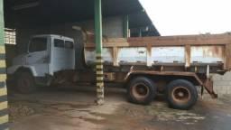 CAMINHÃO BASCULANTE TRUCK TRAÇADO MB2318 ANO 1992