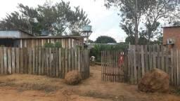 Vendo esse terreno com uma casa de madeira