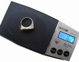Mini balanca digital de alta precisao