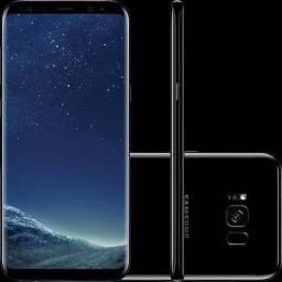Celular Samsung Galaxy S8+ Plus 64Gb Preto Dual Tela 6.2 Novo Sem Uso Na Caixa